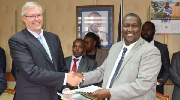 JV Partners and Africa Sign First Ever Oil Construction in Kenya