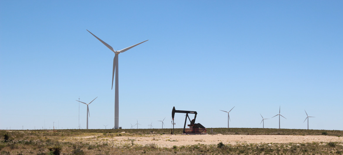 Texas Using Wind Power- Surpassing Old Coal Power
